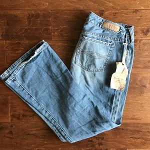 Abercrombie & Fitch Flare Distressed Jeans NWT 6S